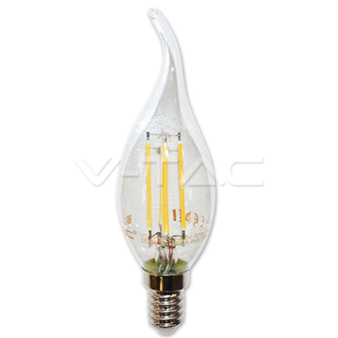 led e14 filament 2w 4w kerze flamme birne. Black Bedroom Furniture Sets. Home Design Ideas