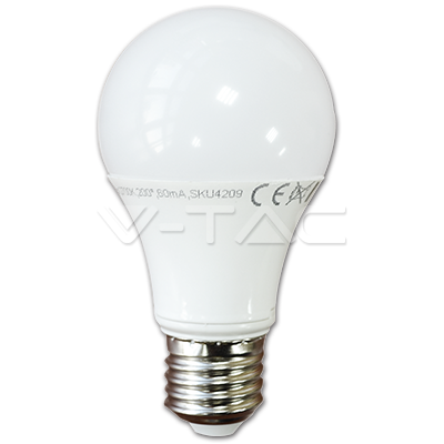 E27 7W A60 LED Birne Thermoplastic